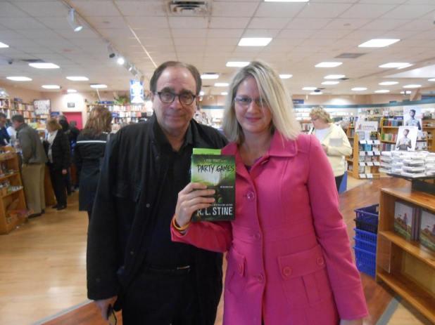 Me and my hero R.L. Stine!
