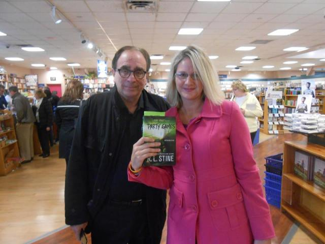 Me and my hero R.L. Stine!