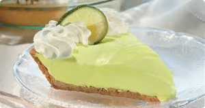 I also adore key lime pie!